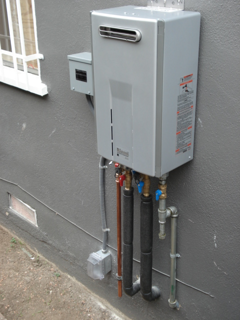 Tankless Water Heater El Monte
